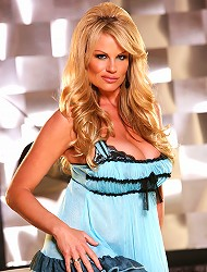 Kelly in a blue lacey teddy takes it off and...
