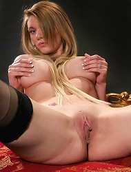 Brand new beautiful teen with long hair and...