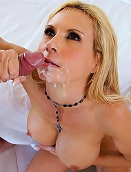 hot secretary cumfaced in this real amateur...