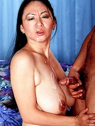 Photos of a dilettante showing off her big...